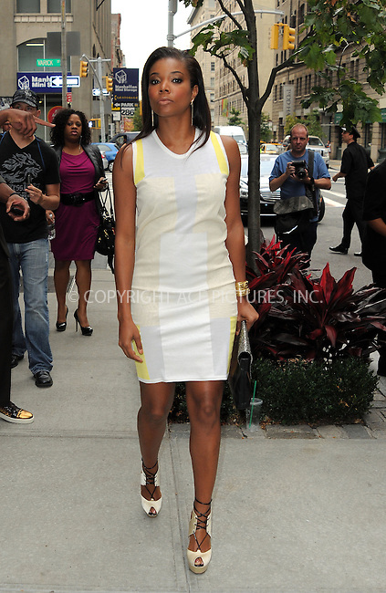 WWW.ACEPIXS.COM....September 6 2012, New York City....Dwayne Wade and Gabrielle Union arrive at a Soho hotel on September 6 2012 in New York City....By Line: Curtis Means/ACE Pictures......ACE Pictures, Inc...tel: 646 769 0430..Email: info@acepixs.com..www.acepixs.com