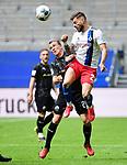 v.l. Emanuel Taffertshofer, Tim Leibold (HSV)<br /> Hamburg, 28.06.2020, Fussball 2. Bundesliga, Hamburger SV - SV Sandhausen<br /> Foto: VWitters/Witters/Pool//via nordphoto<br />  DFL REGULATIONS PROHIBIT ANY USE OF PHOTOGRAPHS AS IMAGE SEQUENCES AND OR QUASI VIDEO<br /> EDITORIAL USE ONLY<br /> NATIONAL AND INTERNATIONAL NEWS AGENCIES OUT