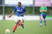 VOETBAL: SURHUISTERVEEN: Sportpark 't Ketting, 20-10-2012, vv 't Fean '58 - SC Veenwouden, Eindstand 2-1, Imani Michimbwa (#7 | 't Fean '58), ©foto Martin de Jong
