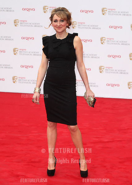 Charlotte Bellamy arriving for the TV BAFTA Awards 2013, Royal Festival Hall, London. 12/05/2013 Picture by: Alexandra Glen / Featureflash