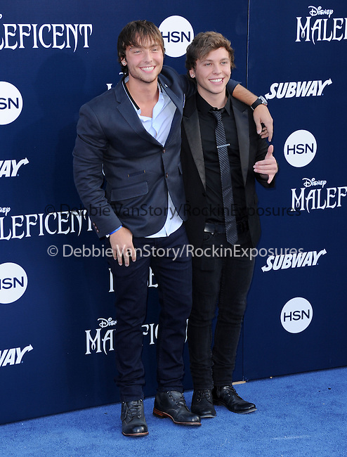 "Emblem3 attends The World Premiere of Disney's ""Maleficent"" held at The El Capitan Theatre in Hollywood, California on May 28,2014                                                                               © 2014 Hollywood Press Agency"