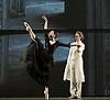 Anna Karenina<br /> chorography by Alexei Ratmansky <br /> The Mariinsky Ballet <br /> at The Royal Opera House, London, Great Britain <br /> rehearsal of Act 1<br /> 9th August 2011 <br /> <br /> Diana Vishneva (as Anna Karenina)<br /> Yuri Smekalov (as Count Alexei Kirillovich)<br /> <br /> <br /> Photograph by Elliott Franks