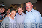 DELIGHTED: Mary and Frank Walsh, castlemorris Ballymullen, Tralee were delighted to meet up with Enda Kenny leader of the Fine Gaeil Party at the Kerry Fine Gaeil Bar B Que in O'Riada's Bar & Restaurant Ballymacelligott on friday night...