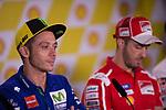 VALENTINO ROSSI - ITALIAN - MOVISTAR YAMAHA MotoGP - YAMAHA<br /> ANDREA DOVIZIOSO - ITALIAN - DUCATI TEAM - DUCATI