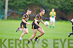 Austin Stacks Barry Shanahan with support from Ciaran O'Connell in Senior Co. League Div. 1 Rd. 3 -  Finuge 1-5 v Austin Stacks 1-13 on Sunday at  James O'Sullivan Park Finuge