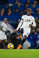 Crystal Palace's Wilfried Zaha in action <br /> <br /> Photographer Craig Mercer/CameraSport<br /> <br /> The Premier League - Chelsea v Crystal Palace - Saturday 10th March 2018 - Stamford Bridge - London<br /> <br /> World Copyright &copy; 2018 CameraSport. All rights reserved. 43 Linden Ave. Countesthorpe. Leicester. England. LE8 5PG - Tel: +44 (0) 116 277 4147 - admin@camerasport.com - www.camerasport.com