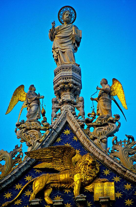St. Mark's Basilica (Chiesa di San Marco), Piazza San Marco, Venice, Italy