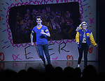 Kyle Selig and Kerry Butler during the Broadway Opening Night Performance Curtain Call of 'Mean Girls' at the August Wilson Theatre on April 8, 2018 in New York City.