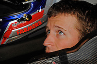 Kasey Kahne (#5) in the cockpit of his car.