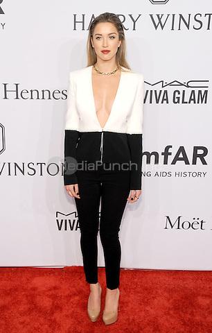 NEW YORK, NEW YORK - February 10: Melissa Bolona attends the 2016 amfAR New York Gala on February 10, 2016 in New York City. Credit: John Palmer/MediaPunch