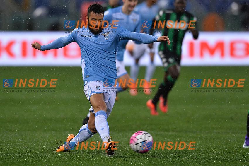 Felipe Anderson Lazio.<br /> Roma 29-02-2016  Stadio Olimpico<br /> Campionato Serie A,<br /> Lazio - Sassuolo<br /> Foto Antonietta Baldassarre / Insidefoto