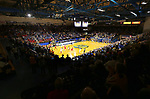 BROOKINGS, SD - FEBRUARY 23: A sell out crowd in attendance for the game between South Dakota Coyotes and South Dakota State Jackrabbits Sunday at Frost Arena in Brookings, SD. (Photo by Dave Eggen/Inertia)