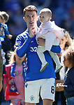 12.05.2019 Rangers v Celtic: Ryan Jack and family