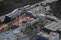 aerial photograph of San Diego County, California