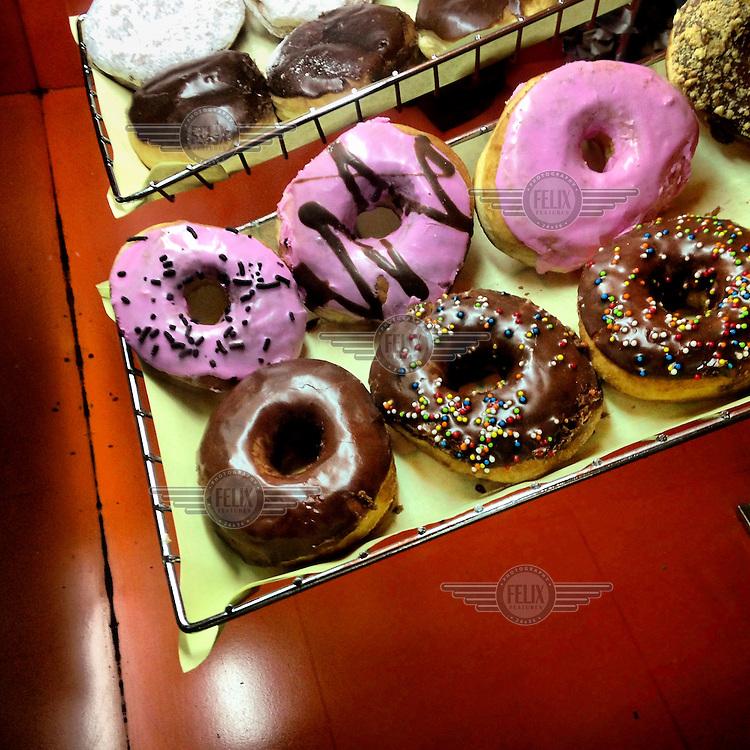 Dunkin Donuts in the Ventura Mall.