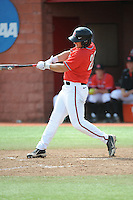 Rutgers University Scarlet Knights outfielder Vinny Zarrillo (20) during a game against the University of Cincinnati Bearcats at Bainton Field on April 19, 2014 in Piscataway, New Jersey. Rutgers defeated Cincinnati 4-1.  (Tomasso DeRosa/ Four Seam Images)