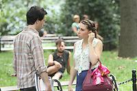 July 31,  2012 Adam Sackler, Shoshanna Shapiro visit on location for HBO series Girls at Washington Square Park in New York City.Credit:© RW/MediaPunch Inc. /NortePhoto.com<br /> <br /> **SOLO*VENTA*EN*MEXICO**<br /> **CREDITO*OBLIGATORIO** <br /> *No*Venta*A*Terceros*<br /> *No*Sale*So*third*<br /> *** No Se Permite Hacer Archivo**<br /> *No*Sale*So*third*