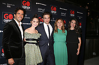 LOS ANGELES - OCT 20:  Eli Roth, Lily Collins, Robert Pattinson, Sasha Alexander, Evangeline Lilly at the GO Campaign Gala at the City Market Social House on October 20, 2018 in Los Angeles, CA