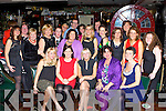 Teachers from Killarney Community College celebrating their Christmas party in Squires bar Killarney on Friday night