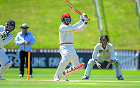 Canterbury's Matt Henry bats during day three of the Plunket Shield cricket match between the Wellington Firebirds and Canterbury at Basin Reserve in Wellington, New Zealand on Thursday, 31 October 2019. Photo: Dave Lintott / lintottphoto.co.nz
