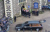 The Funeral of Graham Taylor - Watford - 01.02.2017