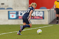 Bridgeview, IL - Sunday May 29, 2016: Sky Blue FC forward Leah Galton (21). The Chicago Red Stars and Sky Blue FC played to a 1-1 tie during a regular season National Women's Soccer League (NWSL) match at Toyota Park.
