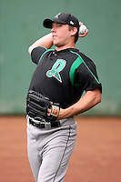 June 13th 2008:  Pitcher Jeff Jeffords of the Dayton Dragons, Class-A affiliate of the Cincinnati Reds, during a game at Stanley Coveleski Regional Stadium in South Bend, IN.  Photo by:  Mike Janes/Four Seam Images