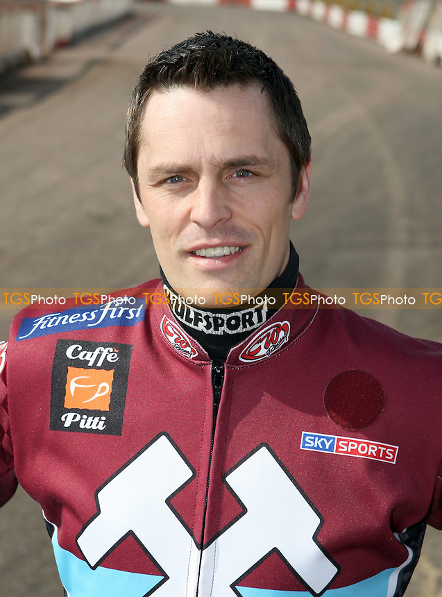 Phil Morris of Lakeside - Lakeside Hammers Press & Practice Day at Arena Essex Raceway -  17/03/09 - MANDATORY CREDIT: Gavin Ellis/TGSPHOTO - Self billing applies where appropriate - Tel: 0845 094 6026