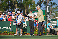 Rory McIlroy (NIR) makes his way to the 10th tee during round 1 of The Players Championship, TPC Sawgrass, at Ponte Vedra, Florida, USA. 5/10/2018.<br /> Picture: Golffile | Ken Murray<br /> <br /> <br /> All photo usage must carry mandatory copyright credit (&copy; Golffile | Ken Murray)