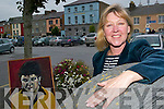 Life art: Susan Hitching, the Duagh art tutor who will host the Life Drawing Class at St John's Theatre Listowel on Saturday, October 18th.   Copyright Kerry's Eye 2008