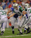 24 September 2006: New York Jets quarterback Chad Pennington in action against the Buffalo Bills at Ralph Wilson Stadium in Orchard Park, NY. The Jets defeated the Bills 28-20. Mandatory Photo Credit: Ed Wolfstein Photo