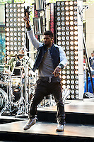 Usher kicks off the 2012 NBC The Today Show Summer Concert Series on the Plaza at Rockefeller Center in New York City. Credit: mpi44/MediaPunch Inc.