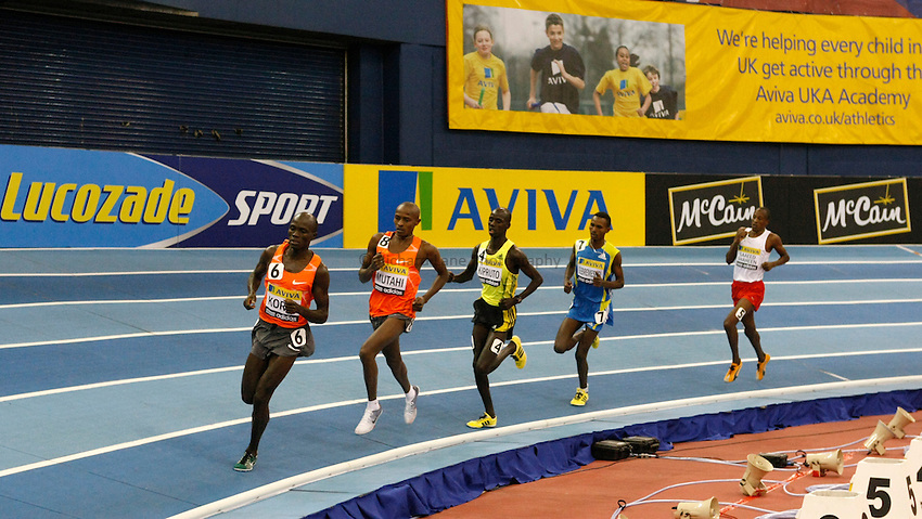 Photo: Richard Lane/Richard Lane Photography. Aviva Grand Prix. 20/02/2010. Men's 3000m.