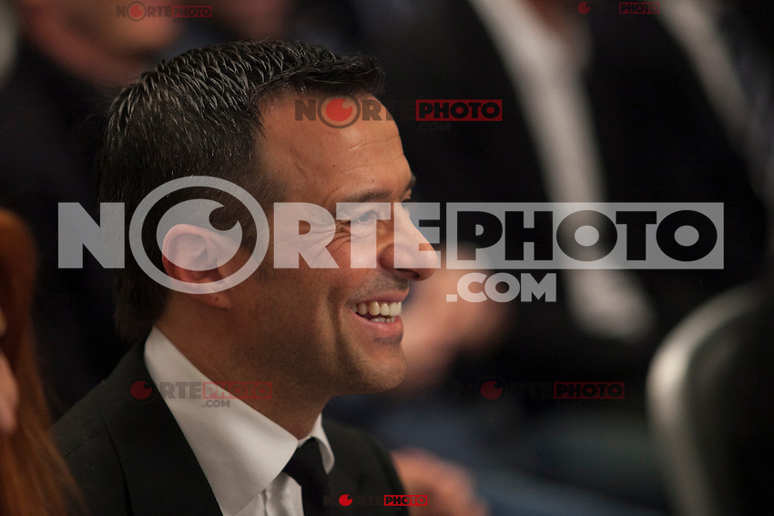 Jorge Mendes during his book presentation in Madrid, Spain. January 22, 2015. (ALTERPHOTOS/Victor Blanco) /NortePhoto<br />