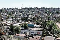 A slum in Mexico City. Un quartiere povero a Città del Messico.
