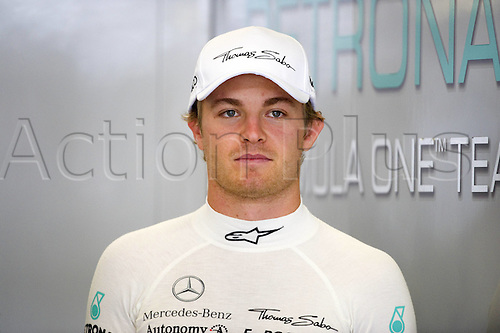21 07 2011 Nico Rosberg ger Mercedes GP Petronas Portrait  2011 Formula 1 grand prix from Germany at Nuerburgring