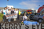 REALITY CHECK: Students from It Tralee staged a live demonstration with Fire Service, Gardai, Ambulance Crews and a hearse in the North Campus on Tuesday afternoon. Pictured l-rwere: Jacqueline Lyons, Jennifer Coffey, Rachel Laffan, Ciara O'Connor and Kenneth Reynolds. Back l-r were: Michael Buckley, Gary Murphy, Michael Thompson, David Scott, Sgt. Brendan Long, Fidelma O'Leary with Katie  Ni? Shi?tigh and Ross Whiteford.