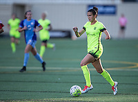 Seattle, WA - Saturday July 23, 2016: Carson Pickett during a regular season National Women's Soccer League (NWSL) match between the Seattle Reign FC and the Orlando Pride at Memorial Stadium.