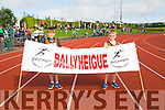 Gearoid Harty and Matthew O'Sullivan from Ballyheigue at the Community Games finals at An Riocht on Saturday