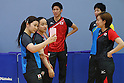 JULY 22, 2016 - Table Tennis : <br /> Japan national team press conference <br /> for Rio Olympic Games 2016 <br /> at Ajinomoto National Training Center, Tokyo, Japan. <br /> (Photo by YUTAKA/AFLO SPORT)
