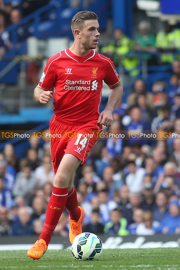 Jordan Henderson of Liverpool  - Chelsea vs Liverpool - Barclays Premier League Football at Stamford Bridge, London - 10/05/15 - MANDATORY CREDIT: Paul Dennis/TGSPHOTO - Self billing applies where appropriate - contact@tgsphoto.co.uk - NO UNPAID USE