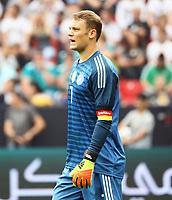 Torwart Manuel Neuer (Deutschland Germany) ist Kapitän - 08.06.2018: Deutschland vs. Saudi-Arabien, Freundschaftsspiel, BayArena Leverkusen