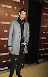 """Actor Adan Canto stars in """"The Following"""", Fox's new tv series on Mondays, which held its world premiere on January 19, 2013 at the New York Public Library, New York City, New York. (Photo by Sue Coflin/Max Photos)"""