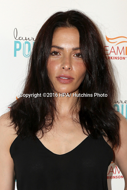 """LOS ANGELES - JUL 27:  Sarah Shahi at the """"Raising the Bar to End Parkinson's"""" Event at the Laurel Point on July 27, 2016 in Studio City, CA"""