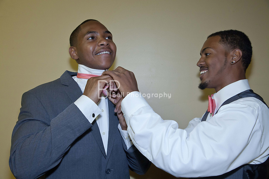 The Marriage Ceremony Uniting Trejahn R. Newson and Kenneth D. Williams