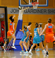 29th November 2019; Bendat Basketball Centre, Perth, Western Australia, Australia; Womens National Basketball League Australia, Perth Lynx versus Southside Flyers; Maddie Allen of the Perth Lynx lays up at the basket - Editorial Use