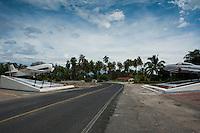 Military base, Pie de la Cuesta, Acapulco, Guerrero, Mexico