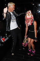 STUDIO CITY, CA - JUNE 23: KUBA Ka and Sabrina Parisi attend Polish Popstar KUBA Ka's concert at La Maison in Studio City on June 23, 2013 in Studio City, California. (Photo by Celebrity Monitor)
