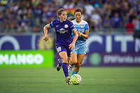 Orlando, FL - Saturday July 16, 2016: Maddy Evans during a regular season National Women's Soccer League (NWSL) match between the Orlando Pride and the Chicago Red Stars at Camping World Stadium.