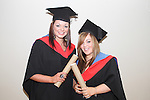 Kate McNamee and Rebecca O'Brien who studied Beauty Therapy at the DIFE Graduation in The Barbican...Picture Jenny Matthews/Newsfile.ie